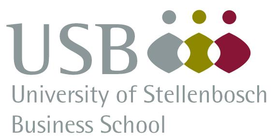 University of Stellenbosch Business School logo.
